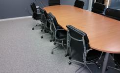 Desso carpet Tiles @ Pearl & Dean Office